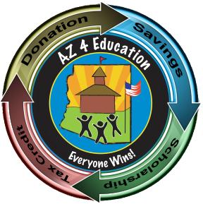 Logo with arrows